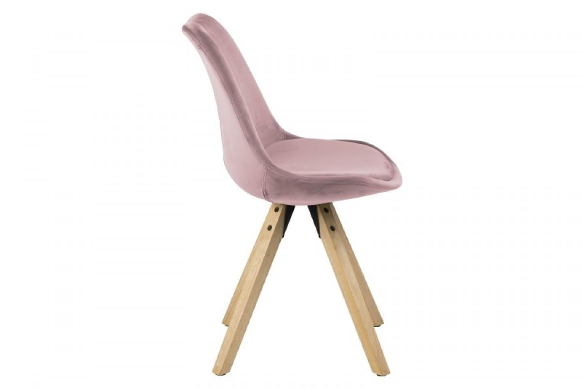 SCANIA design szék lila bársony
